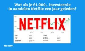 Aandelen Netflix