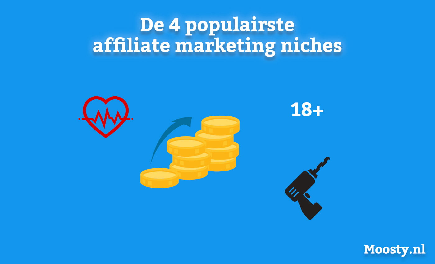 De 4 populairste niches