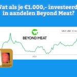 Wat als je €1.000,- investeerde in aandelen Beyond Meat?