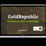 GoldRepublic Review en mijn ervaringen