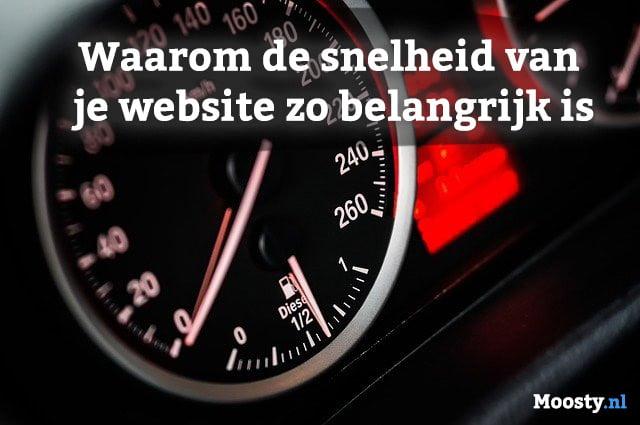 Snelheid van je website