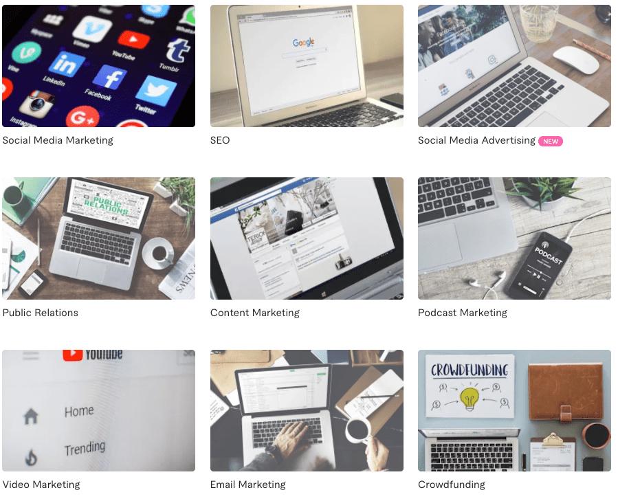 Digitale marketing bij Fiverr